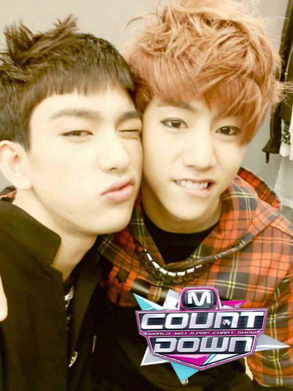 ... PIC][Official] 140220 GOT7 on Mnet Countdown – Selca – JJTHENOONAS Yugyeom Got7 Selca