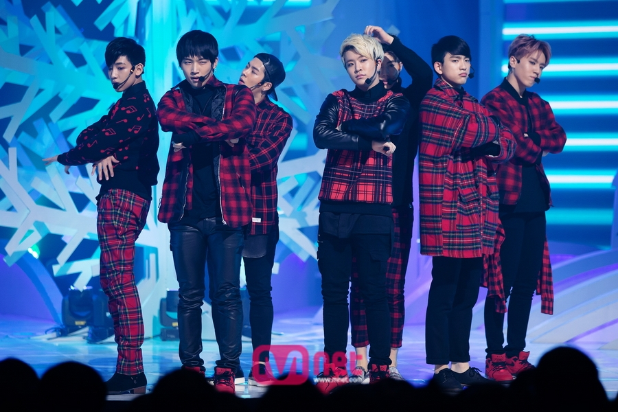 PRESS] 141225 MCountdown Christmas Special – GOT7 – JJTHENOONAS