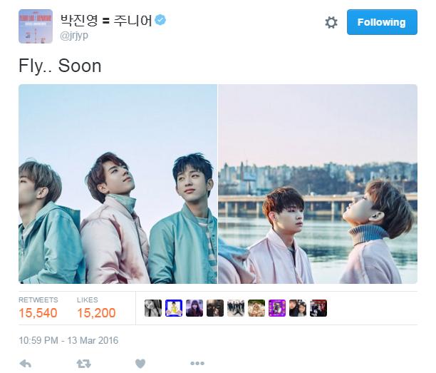 160314 Junior Twitter update